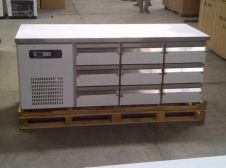 Peralatan Dapur Restoran Under Counter Chiller 9 Drawers 1 15