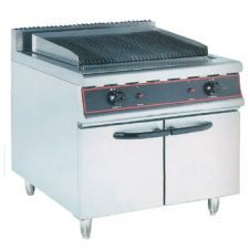Gas Char Broiler with Stand 1