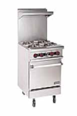 Gas Table Range 4 Burner With Oven 1