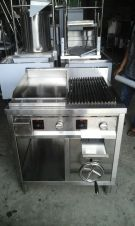 Gas Combinasi Griddle And Fry Top 1